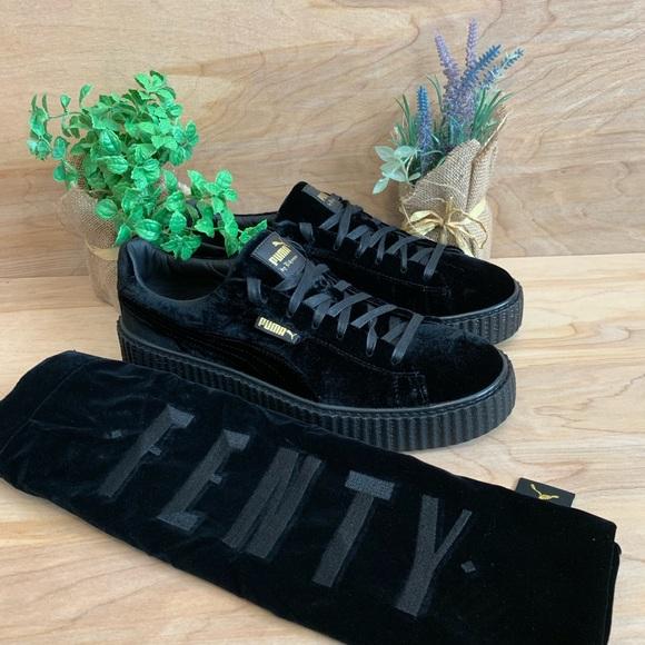 new authentic newest save up to 80% Puma Shoes | X Rihanna Fenty Suede Creeper Velvet Shoe | Poshmark